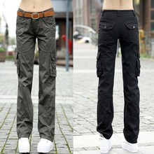 Womens black cargo pants online shopping-the world largest womens ...