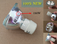New high quality projector bulb 190W 0.9 fit for benq MP525P MP575 MP575P MP511 MP512 MP522 MX850UST