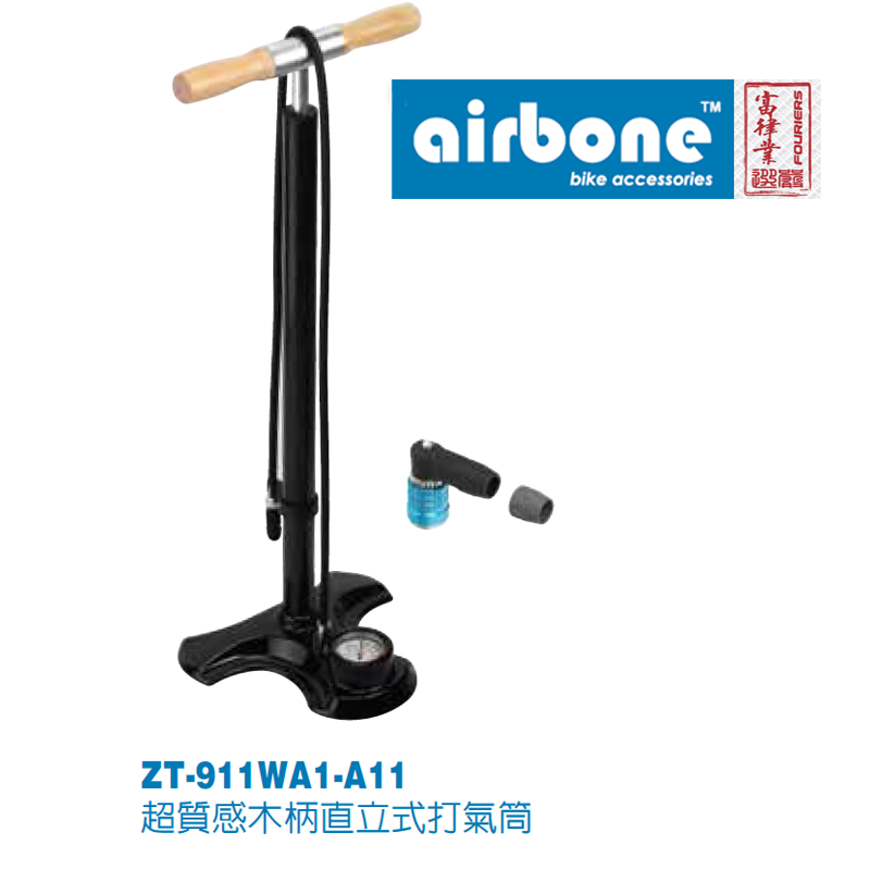 airbone Bike Pump Bicycle Tire Inflator Air Pump Mountain Road Bike MTB Cycling Air Press Frame Accessories mizumi airbone zt 702pa оранжевый