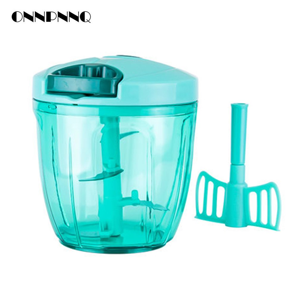 Kitchen Multifunctional Portable Onion Chopper Manual Stainless ...