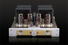 YAQIN MC-100B Integrated vacuum tube amplifier SRPP circuit KT88*4 TR/UL Class AB1 amplifier 22W/50W 110V/220V
