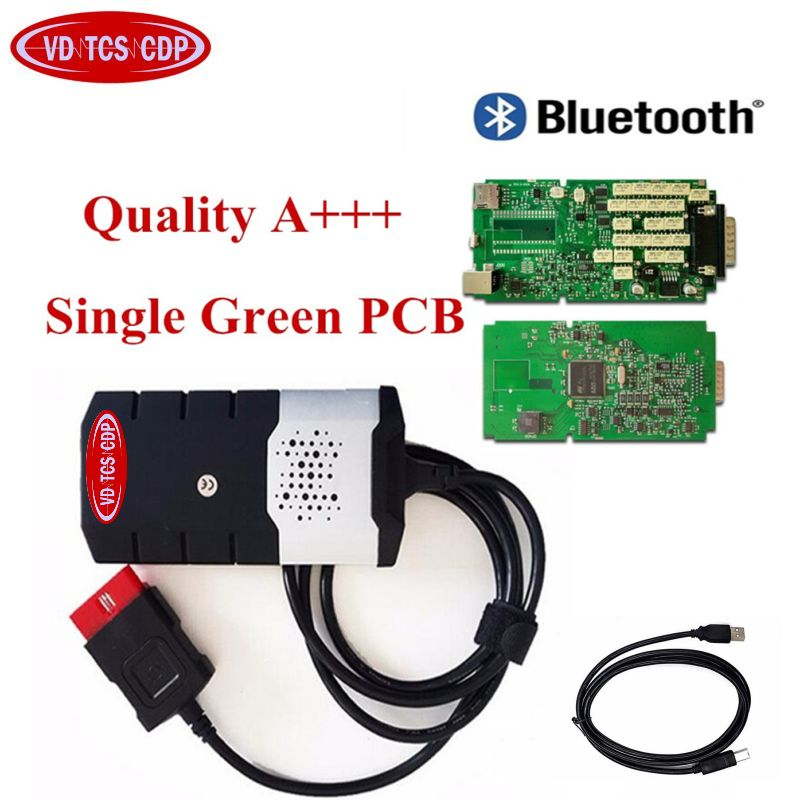 DHL Quality A+ Green Single PCB Board For delphis VD ds150e CDP For VD TCS CDP Pro Plus OBD Scanner Bluetooth Diagnostic ToolDHL Quality A+ Green Single PCB Board For delphis VD ds150e CDP For VD TCS CDP Pro Plus OBD Scanner Bluetooth Diagnostic Tool