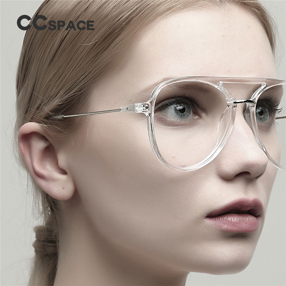47402 Ladies Glasses Frames Women Transparent Frame Brand Designer Optical EyeGlasses Fashion Eyewear Computer Glasses