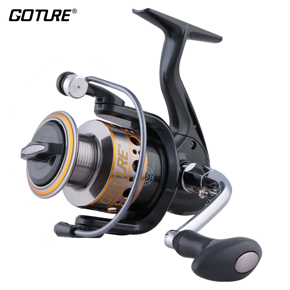 Goture GTV/GT-S Crap Fishing Reel 6+1BB Reel for Fishing 500/1000/2000/3000/4000/5000/6000/7000 Left/Right Spinning Wheel peche