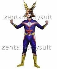 3D Print My Hero Academia Boku no Superhero Lycra Zentai Bodysuit Halloween Cosplay Party suit free delivery