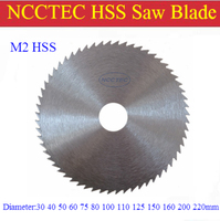 [6mm thickness] 3'' 72 teeth 80mm NCCTEC carbided plastic steel HSS slitting tct saw blade FREE Shipping cutting disk