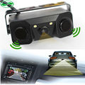 New Car Video Parking Camera Sensor, Rear view camera + 2 Sensors Indicator Bi Bi Alarm Auto Reverse Backup Radar Assistance