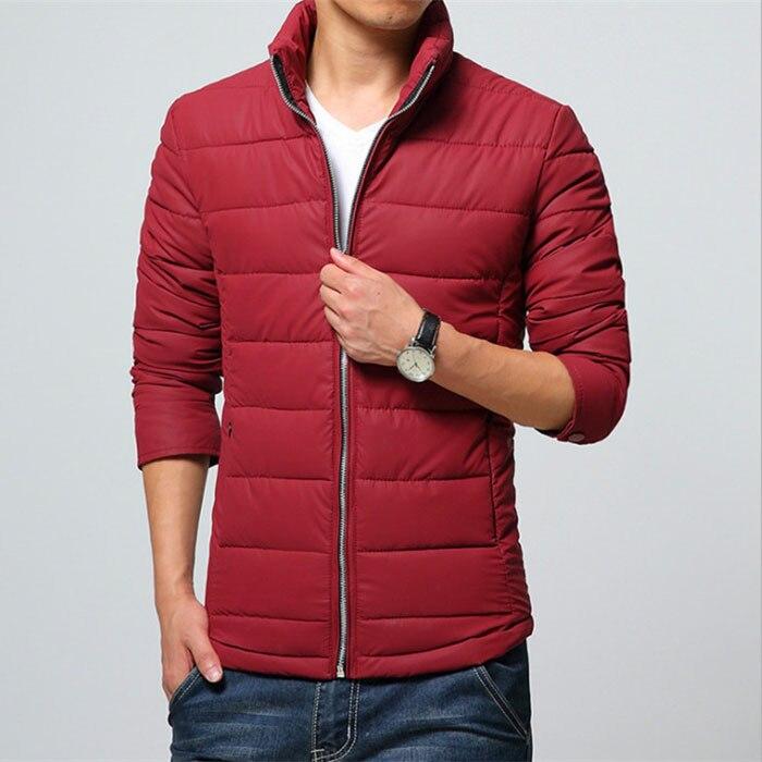 NEW! 2015 Hot Men Winter Jacket Coat Man Parka Male Solid jackets coats  Mens Casual Slim Outwear ,Freeshipping MC1022