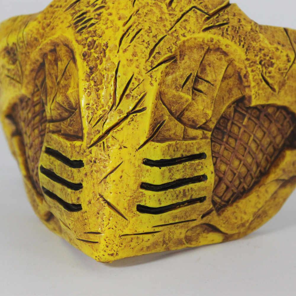Маска Mortal Kombat X для косплея, маска скорпиона для вечеринки на Хэллоуин
