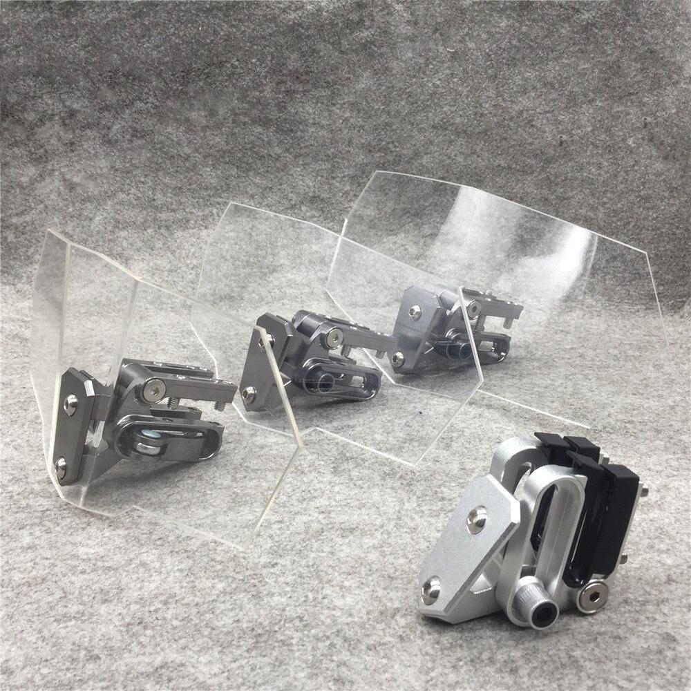 Geändert Moto Windschutzscheibe Einstellbare Windschutzscheibe Motorrad Windschutzscheibe Für Kawasaki BMW Ducati Honda KTM