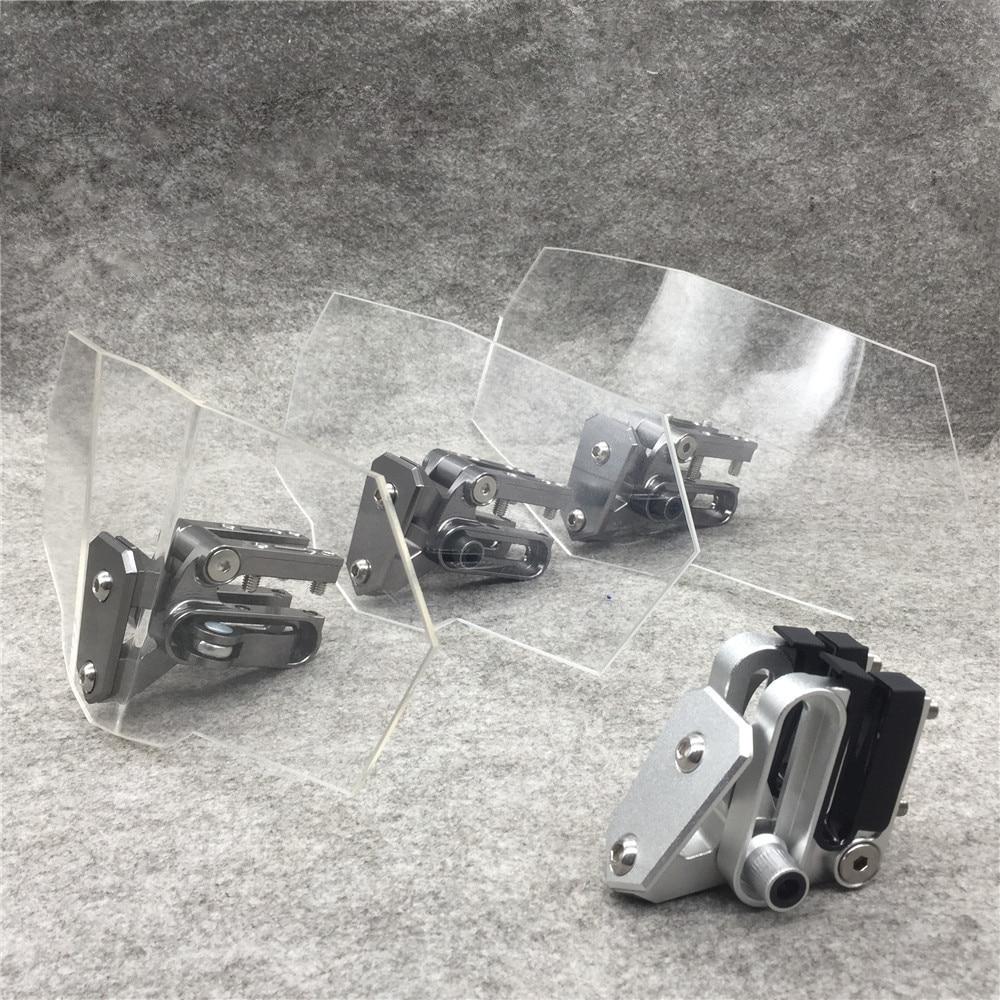 Modified Moto Windshield Adjustable Windshield Universal Motorcycle Windshield For Kawasaki BMW Ducati Honda KTM
