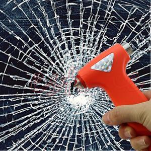 Image 2 - 1 PC romper vidrio de ventana martillo de emergencia de coche de equipo de seguridad cinturón de cuerda de herramienta de corte