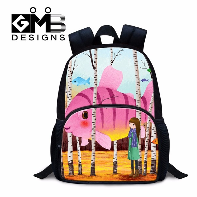 Illustration Mini School Bags for Kids Little Girls Back to School ...