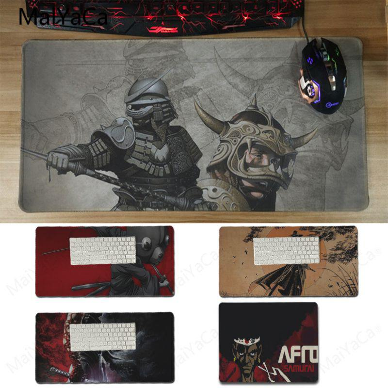 Yinuoda In Stocked Samurai Gamer Speed Mice Retail Small Rubber Mousepad Size 180x220 Mm And 300*600*2mm