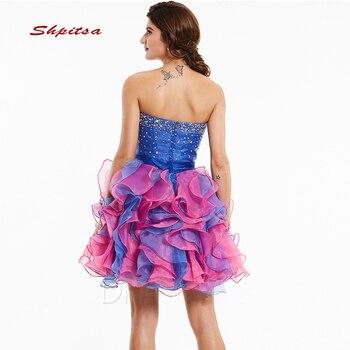 Talla Grande Semi Formal | Vestidos De Cóctel Cortos De Lujo Fiesta Gris Graduación De Regreso A Casa Mujeres Graduación De Talla Grande Coctail Mini Vestidos Semi Formales
