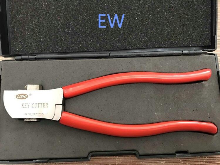 (without Box) Original Lishi Key Cutter Locksmith Car Key Cutter Tool Supplies For Key Cutting Machine Cut Flat Keys Directly