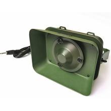 цены 2016 New AJCP-BK1221 Waterproof Iron Shelf 60W 160db Outdoor Hunting Bird Caller mp3 Louder Speaker Hunting Decoy