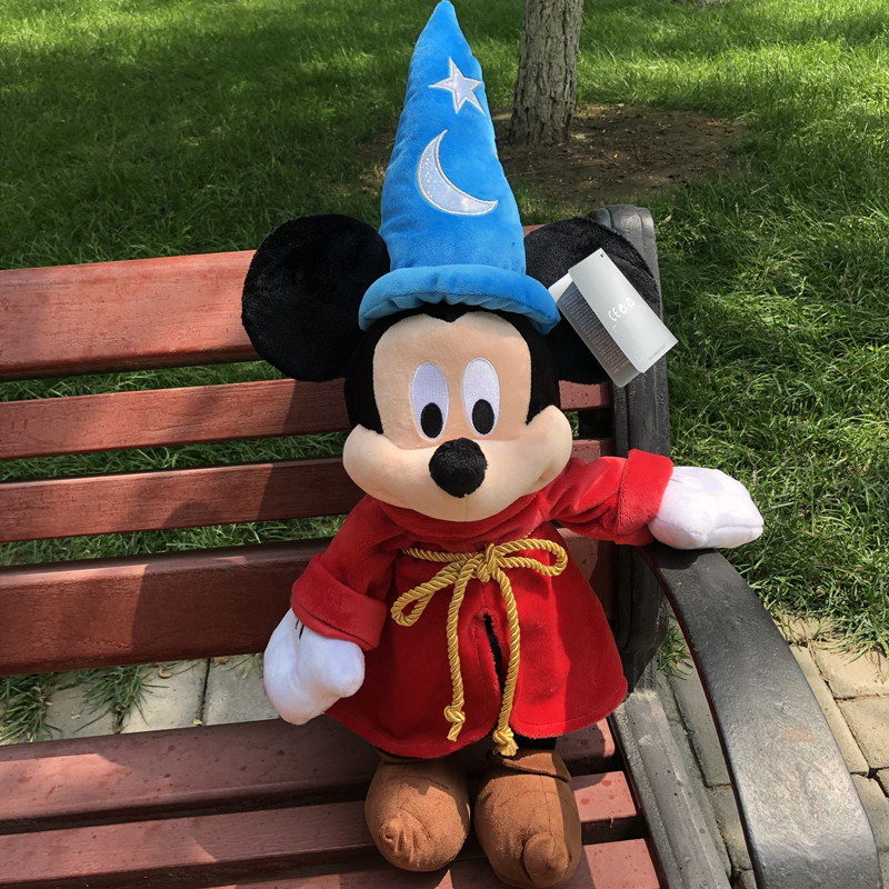 48cm Mickey Mouse plush toy Fantasia Sorcerer Plush Doll Cute Stuffed Animals Toys A birthday present for a child in Movies TV from Toys Hobbies