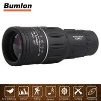 16X52 HD Monocular Telescope Dual Focusing Adjustment Low Light Night Vision Binocular Spotting Scope Hunting Watching