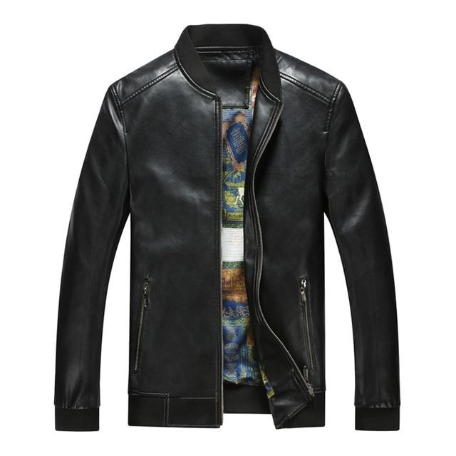 Aliexpress.com : Buy Sheepskin Genuine Leather Bomber Jacket Men ...