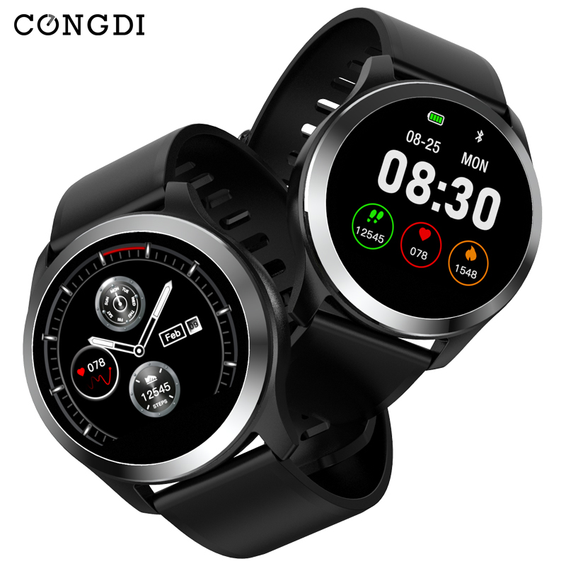 Congdi 2019 Smart Watch Z03 PPG ECG Blood Pressure Heart Rate Sport Fitness Tracker