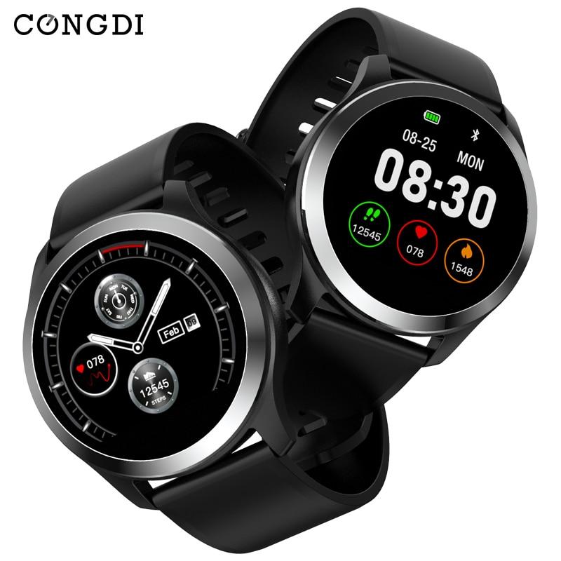 Congdi 2019 di Smart Watch Z03 PPG + ECG Pressione Sanguigna Frequenza Cardiaca Tracker Intelligente Della Vigilanza di Sport Del Braccialetto Intelligente Inseguitore di Fitness per Tezer