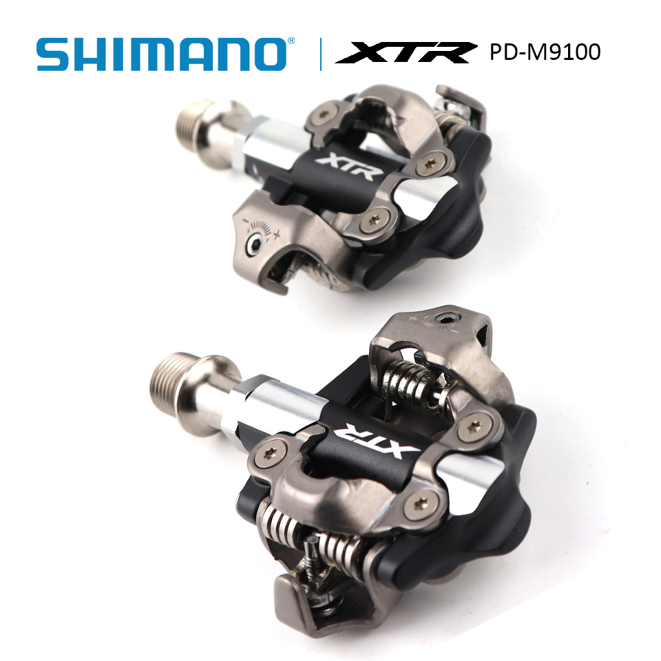 06dc24cd750 SHIMANO XTR PD M9100 Mountain Bike SPD Pedal Clipless race Pedals Set incl  SM SH51 cleats Mountain Bike Pedal-in Bicycle Pedal from Sports    Entertainment ...