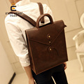 trends business casual male Korean version of men's  shoulder bag backpack pu leather backpack Business