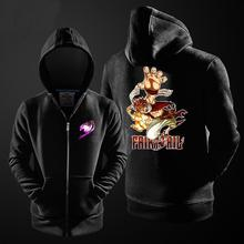 One Piece Fairy Tail Men Coat Hoodie Sweatshirt