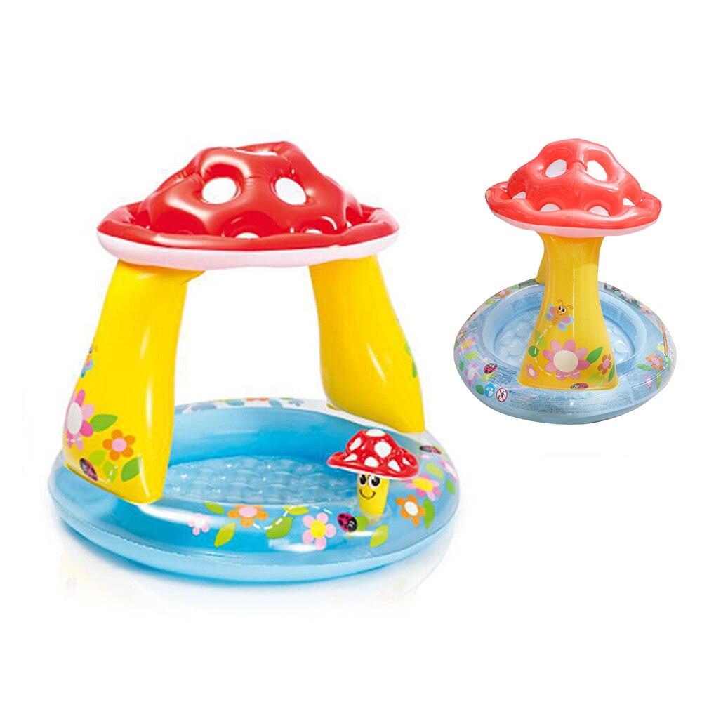 Basen dla dzieci letnie dziecko markizy baseny umywalka basen dla dzieci grzyb nadmuchiwane baseny ogrodowe dla dzieci dla dzieci basen z wodą