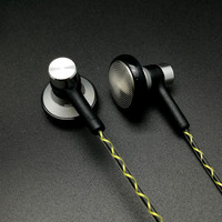 RY04 Original In Ear Earphone Metal Manufacturer 15mm Music Headphone Quality Sound HIFI Headset IE800 Style