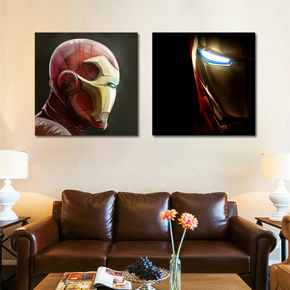 2 Pcs Set No Framed Modern Canvas Prints Picture Cuadros