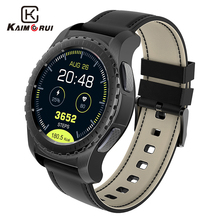 Kaimorui Bluetooth Smart Watch KW28 Support SIM/TF Card Men Smartwatch Fitness Tracker Heart Rate Clock For Android IOS Phone цена