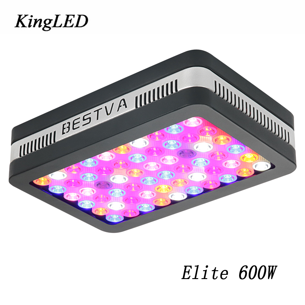 New LED Grow light Elite 600W LED Grow Light Full Spectrum Grow Lamp for Greenhouse Hydroponic Indoor Plants Veg and Bloom стоимость