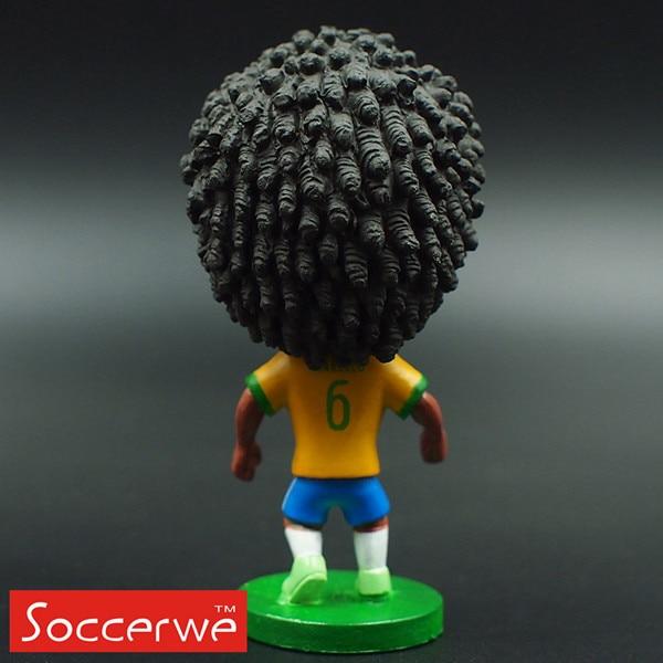 Soccer Player Star 6# MARCELO (BRA-2014) 2.5 Toy Doll Figure