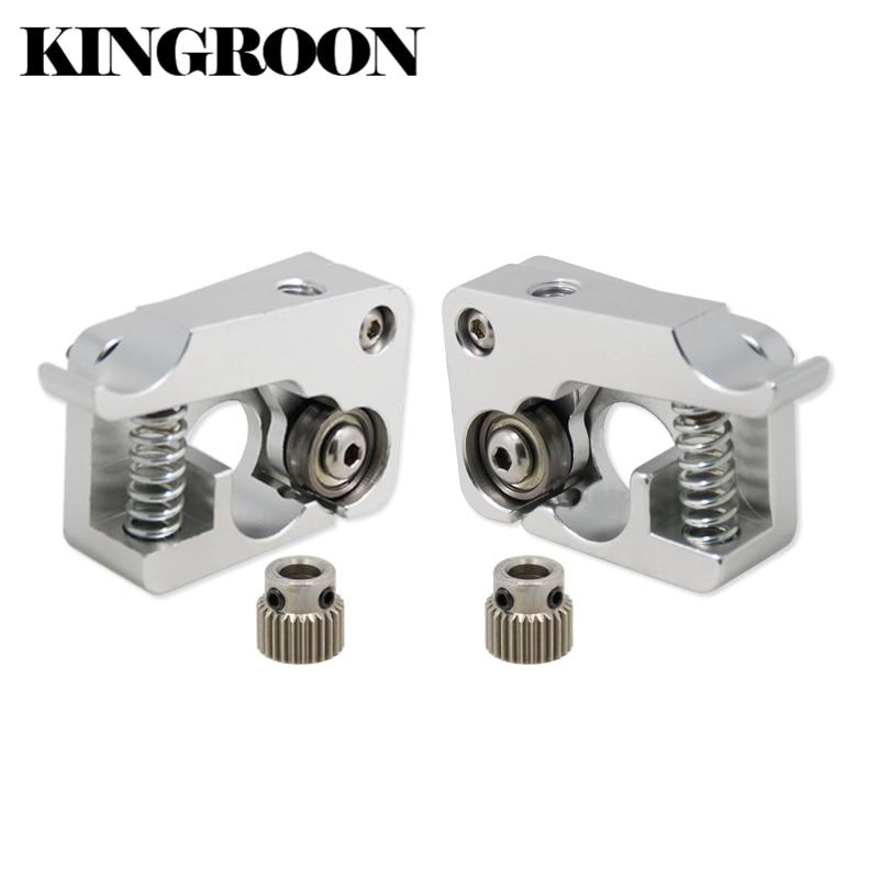 MK10 Remote Direct Extruder Aluminum Part Extrusion 1.75mm Right Left Hand Arm Full Metal Bowden 3D Printers Parts Aluminium