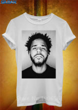 2017 New Sleeve  Print Men Cool Graphic Jermaine Lamarr J Cole Crew Neck Short-Sleeve Tee j cole stockholm
