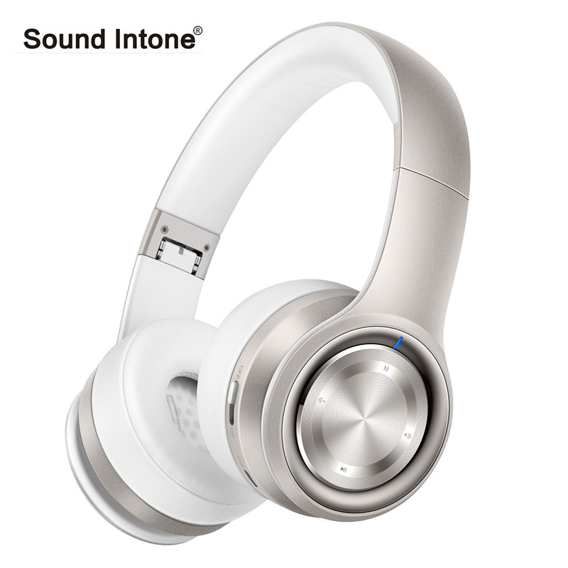 Sound Intone P26 Wireless Headphones Bluetooth Headset with Mic Stereo Bass Sound Headphone Support TF Card for PC Mobile Phone