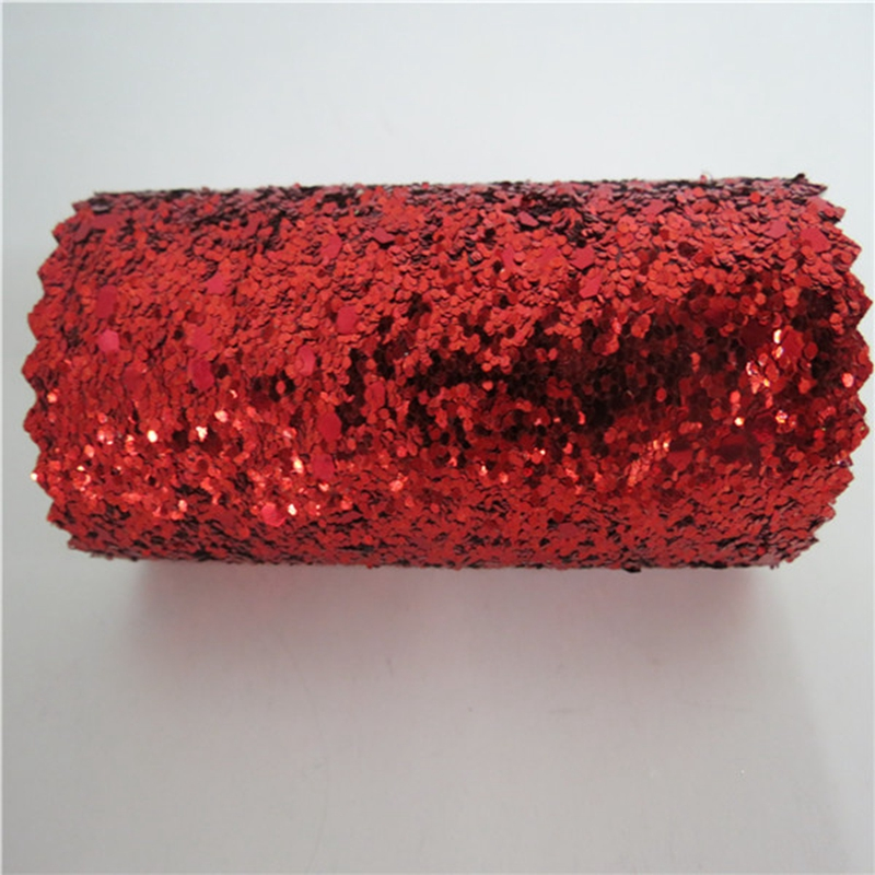 7m One Roll Grade 3 Chunky Red Glitter Wallpaper Light Reflection Fancy Manufacturer In Wallpapers From Home Improvement On Aliexpress
