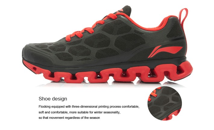 Li-Ning Men Running Shoes Light Mesh Breathable Cushioning Li-ning Arch Techonology Sneakers Sport Shoes ARHJ049 XYP039 6