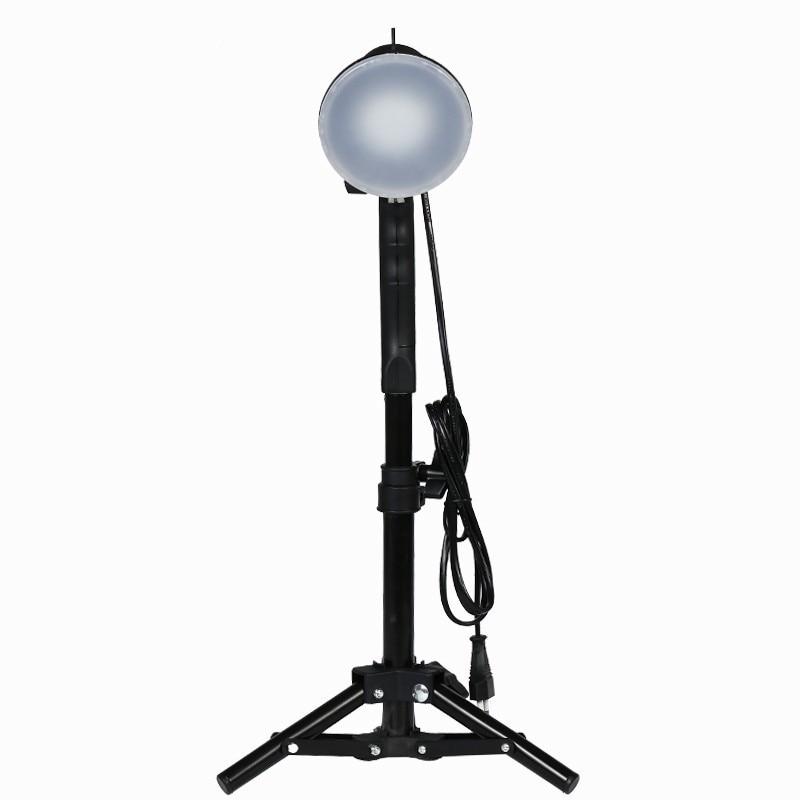 TRUMAGINE 1PCS Photo Studio LED lamp photography studio Portable Light Bulb Soft Box Fill Lights Bulb With 37CM Light Stand