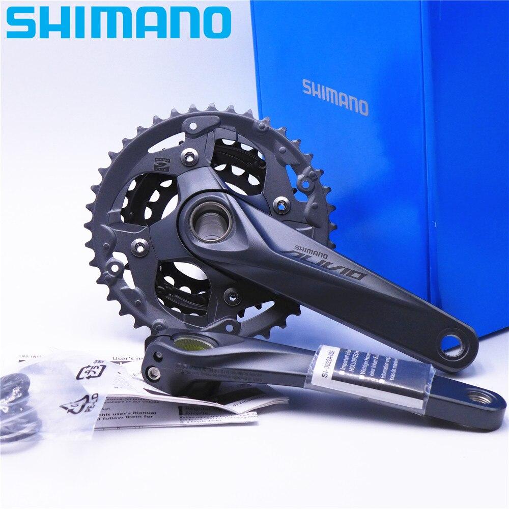 SHIMANO Alivio FC M4050 MTB Crankset 9 Speed 170mm