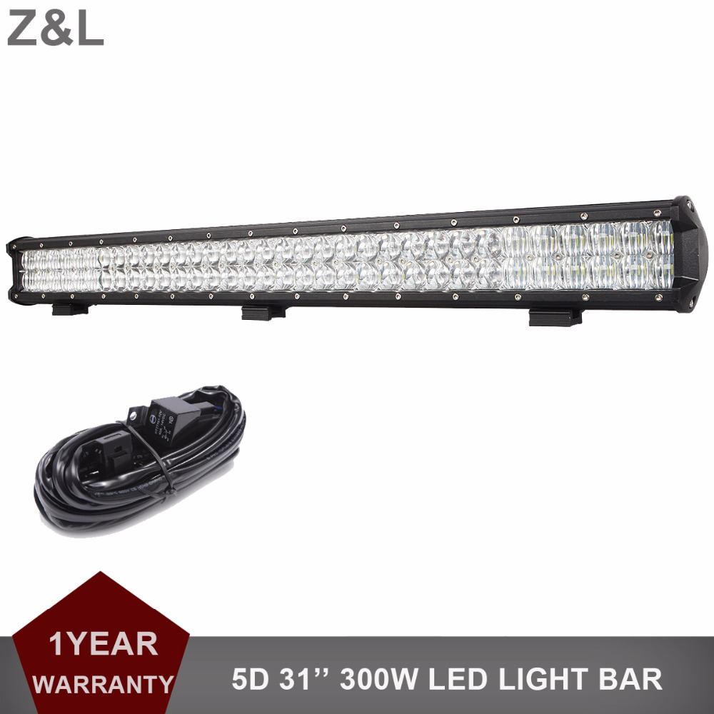 Offroad 31 330W LED Light Bar Combo 12V 24V Driving Lamp Car Boat 4WD 4X4 ATV UTE AWD Wagon Pickup Trailer Truck Camping Lamp guleek combo 120w 8400lm 40 led white light offroad car light bar working lamp 12 24v