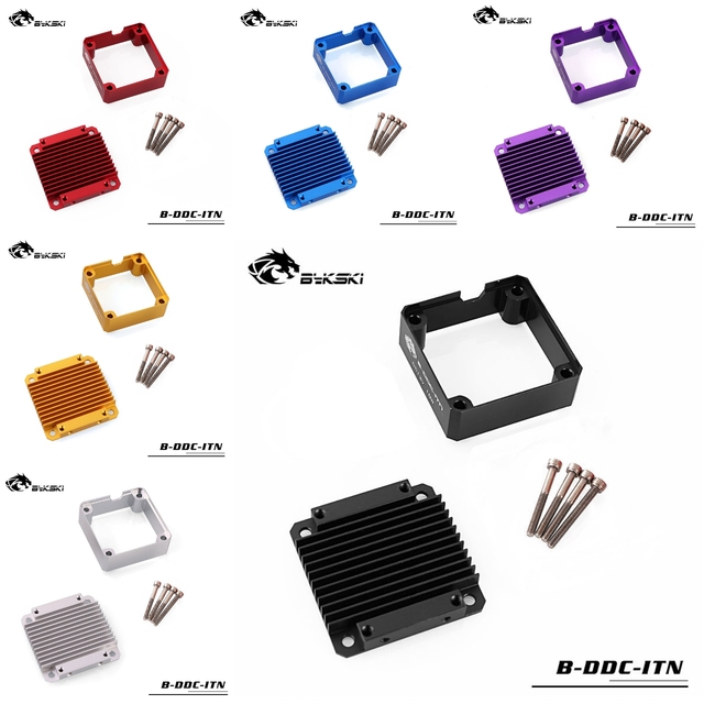Bykski B-DDC-ITN Heatsink Kit for Laing DDC MCP355 Pump