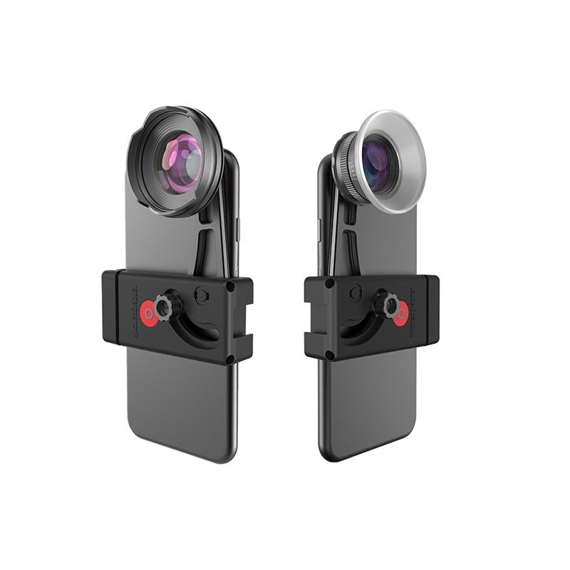 BENRO High Quality Phone Lens Kit Phone Clamp 110 wide angle Wide Angle lens 15 75