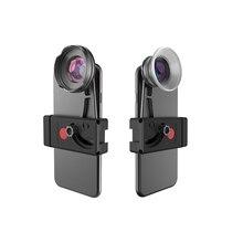 BENRO, Kit de lente de teléfono de alta calidad, abrazadera de teléfono + lente gran angular 110 + Micro lente de 15 75