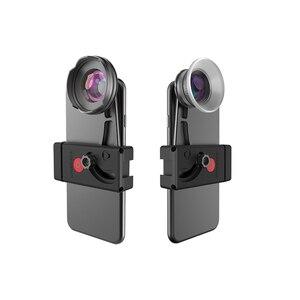 Image 1 - Benro 고품질 전화 렌즈 키트 전화 클램프 + 110 광각 광각 렌즈 + 15 75 마이크로 렌즈 마이크로 렌즈