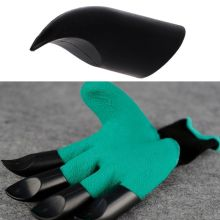 4Pcs/lot Garden Claws ABS Plastic For Digging Planting Rake Working Protective Safety Devil Gloves Halloween Party