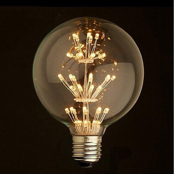 1pc E27 3w Classic Vintage Retro Led Light Bulb St64 110v