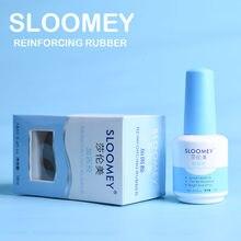 Усиленный Гель-лак для ногтей SLOOMEY 18 мл, УФ-гель, прозрачный лак, Праймер, анастомозное Базовое покрытие, не протирается, верхний слой, липкий